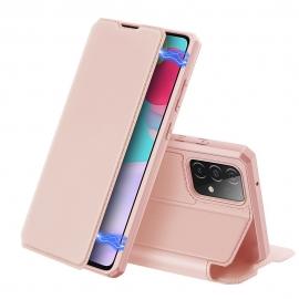 DuxDucis Skin X Bookcase Samsung Galaxy A52 5G - Pink
