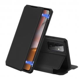DuxDucis Skin X Bookcase Samsung Galaxy A72 - Black