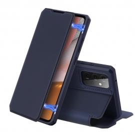 DuxDucis Skin X Bookcase Samsung Galaxy A72 - Blue
