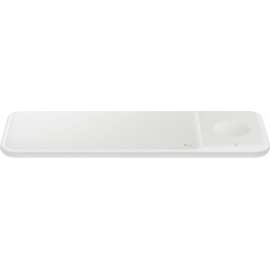 Samsung Wireless Charger Trio White & Travel Charger
