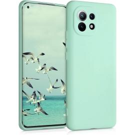 KW TPU Silicone Case Xiaomi Mi 11 - Mint Matte (54188.50)
