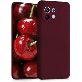 KW TPU Silicone Case Xiaomi Mi 11 - Tawny Red (54188.190)
