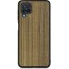 KW Wooden Case Samsung Galaxy A12 - Walnut / Dark Brown (54342.18)