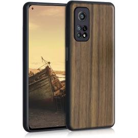 KW Wooden Case Xiaomi Mi 10T / Mi 10T Pro - Walnut / Dark Brown (53617.18)