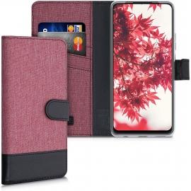 KW Wallet Case Huawei P Smart 2021 - Dusty Pink / Black (53783.22)