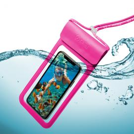 "Celly Splash Bag Up To 6.5"" - Pink (SPLASHBAG19PK)"