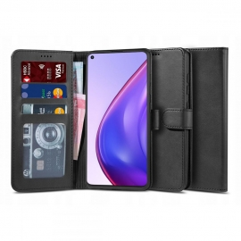 "Tech-Protect Wallet ""2"" Case Stand Xiaomi Mi 10T / 10T Pro - Black"