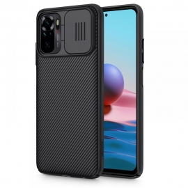 Nillkin Camshield Back Cover with camera protection Xiaomi Redmi Note 10 / 10s - Black