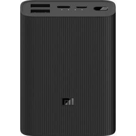 Xiaomi Powerbank 3 Ultra Compact Fast Charge 10000mAh 2xUSB/Type-C/Micro USB - Black (BHR4412GL)