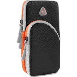 OEM Running armband sports phone case - Black/Grey/Orange