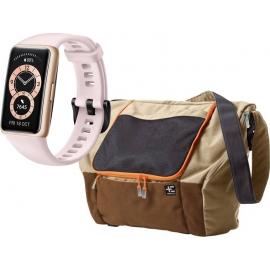 Huawei Band 6 Pink + Terranation Bag Ika Kopu 29lt