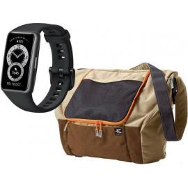Huawei Band 6 Black + Terranation Bag Ika Kopu 29lt