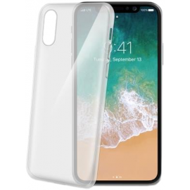 Celly Case Gelskin iPhone X/XS - Transparent (GELSKIN900)