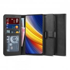 "Tech-Protect Wallet ""2"" Case Stand Xiaomi Poco X3 NFC - Black"