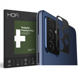 Hofi Metal Camera Styling Cover Samsung Galaxy A72 - Black