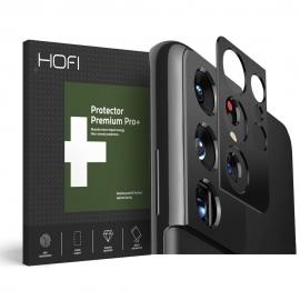 Hofi Metal Camera Styling Cover Samsung Galaxy S21 Ultra - Black