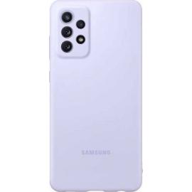 Samsung Silicone Cover Galaxy A72 Violet
