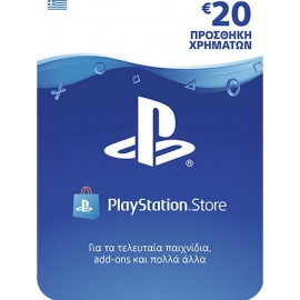 Sony Playstation Network Live Card 20 euros