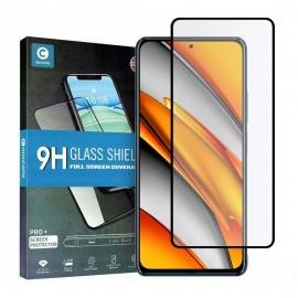 Mocolo Tempered Glass 9H Full Glue Xiaomi Poco F3 - Black