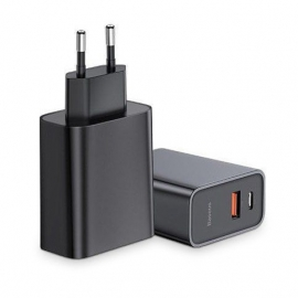 Baseus Speed PPS 2 Wall Charger 30W Usb + Type-C PD QC3.0 (CCFS-C01) - Black