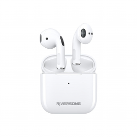 Riversong True Wireless Earbuds Air Mini White