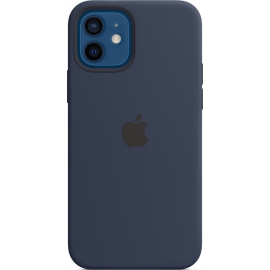 Apple Silicone Case iPhone 12/12 Pro with MagSafe Deep Navy