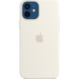 Apple Silicone Case iPhone 12/12 Pro with MagSafe White