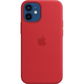 Apple Silicone Case iPhone 12 mini with MagSafe Red