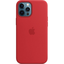 Apple Silicone Case iPhone 12 Pro Max with MagSafe Red