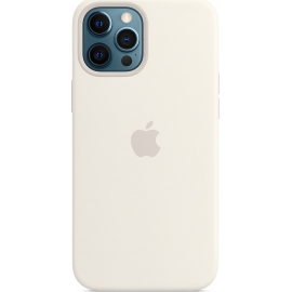 Apple Silicone Case iPhone 12 Pro Max with MagSafe White