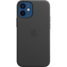 Apple Leather Case iPhone 12 mini with MagSafe Black