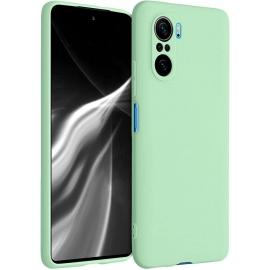 KW TPU Silicone Case Xiaomi Poco F3 - Mint Matte (54657.50)