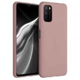 KW TPU Silicone Case Xiaomi Poco M3 - Rose Tan (53971.193)