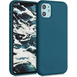 KW TPU Silicone Case iPhone 11 - Teal Matte (50791.57)