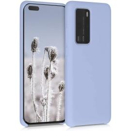 KW TPU Soft Flexible Rubber Huawei P40 Pro - Light Blue Matte (52292.58)