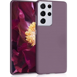 KW TPU Silicone Case Samsung Galaxy S21 Ultra - Grape Purple (54075.181)