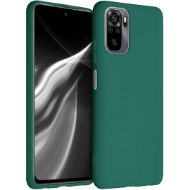 KW TPU Silicone Case Xiaomi Redmi Note 10 / Note 10s - Turquoise Green (54541.184)