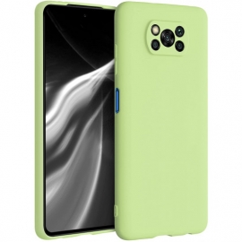 KW TPU Silicone Case Xiaomi Poco X3 NFC - Pistachio Green (53482.137)