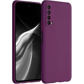 KW TPU Silicone Case Huawei P Smart 2021 - Magenta Purple (53674.197)