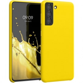 KW TPU Soft Flexible Rubber Samsung Galaxy S21 - Vibrant Yellow (54056.165)