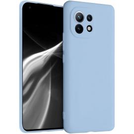 KW TPU Silicone Case Xiaomi Mi 11 - Light Blue Matte (54188.58)