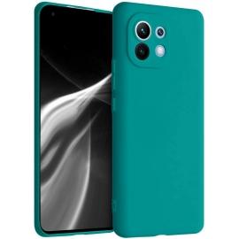 KW TPU Silicone Case Xiaomi Mi 11 - Teal Matte (54188.57)