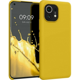 KW TPU Soft Flexible Rubber Xiaomi Mi 11 - Honey Yellow (54379.143)