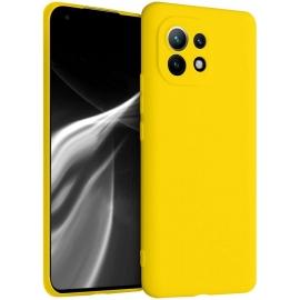 KW TPU Silicone Case Xiaomi Mi 11 - Vibrant Yellow (54188.165)