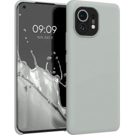 KW TPU Soft Flexible Rubber Xiaomi Mi 11 - Light Grey Matte (54379.70)