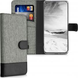 KW Wallet Case Xiaomi Mi 11 - Grey / Black (54661.22)
