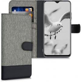 KW Wallet Case Xiaomi Poco M3 - Grey / Black (54447.22)