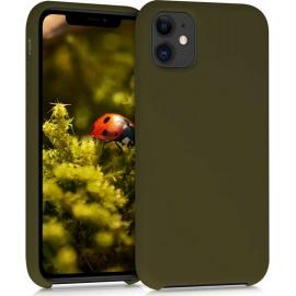 KW TPU Soft Flexible Rubber iPhone 11 - Dark Olive (49724.196)