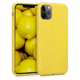 Kalibri TPU Case Eco-Friendly Natural Wheat Straw Apple iPhone 11 Pro Max - Yellow (50318.06)