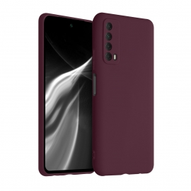 KW TPU Silicone Case Huawei P Smart 2021 - Tawny Red (53674.190)